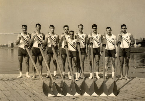 1964 Gold Medal Olympic 8+