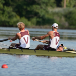 Tom Pezek, Yohann Rigogne, and Lou Lombardi will represent the United States at the 2016 FISA Rowing World Championships