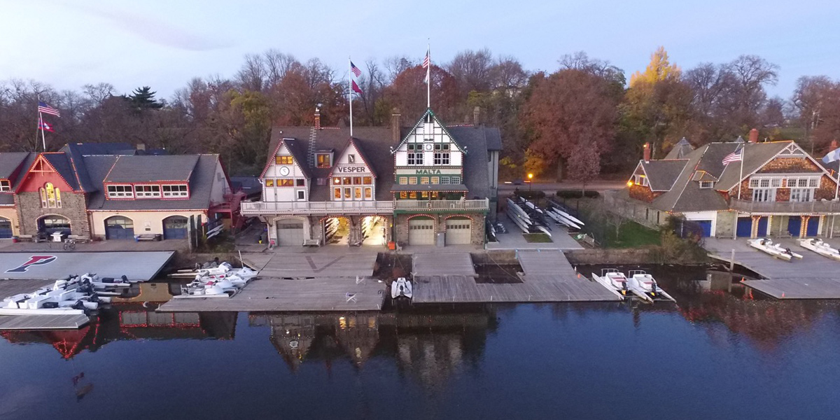 Vesper Boat Club — The John B. Kelly Memorial Boathouse